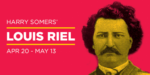 Louis Riel homepage slide