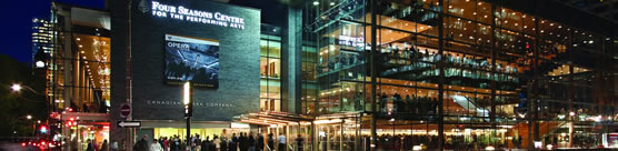 Four Seasons Centre for the Performing Arts. Photo: Sam Javanrouh © 2007