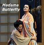 A scene from Madama Butterfly