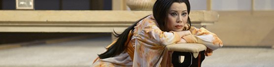 Xiu Wei Sun in the COC's Madama Butterfly. Photo: Michael Cooper