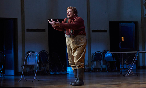 Ben Heppner as Peter Grimes in the Canadian Opera Company production of Peter Grimes, 2013.