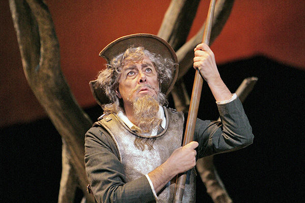 Ferruccio Furlanetto as Don Quichotte. Photo by Cory Weaver
