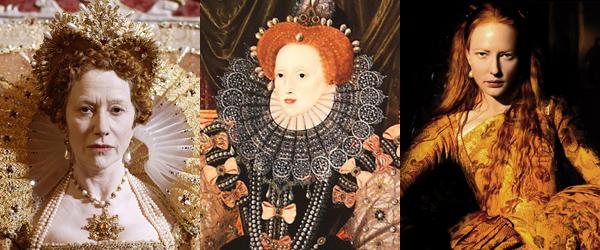 Helen Mirren, Elizabeth I, Cate Blanchett