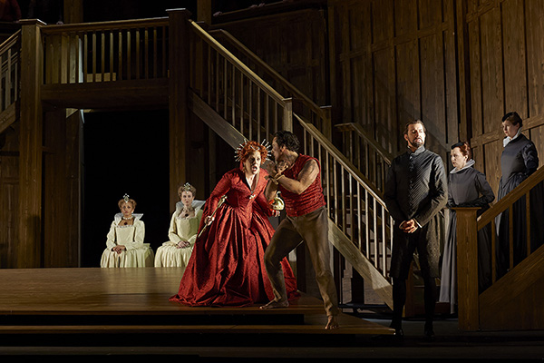 A scene from Roberto Devereux