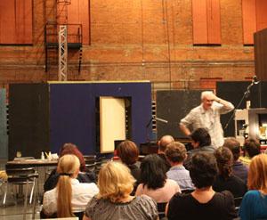 Tim Albery's Aida concept talk