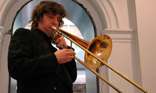 Composer/trombonist Scott Good