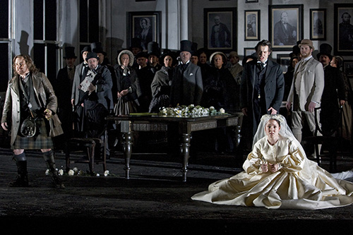 A scene from Lucia di Lammermoor.