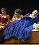 Shannon Mercer, Krisztina Szabó and Joni Henson in Così fan tutte. Photo: Michael Cooper © 2006